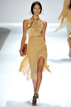 love the movement of the skirt (Elie Tahari)