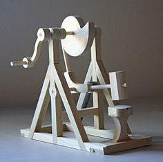 Leonardo DaVinci's Cam Hammer: Da Vinci Kits!  FUN!!