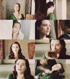 Katie McGrath as Morgana in season 2 episode 12: The Fires of Idirsholas