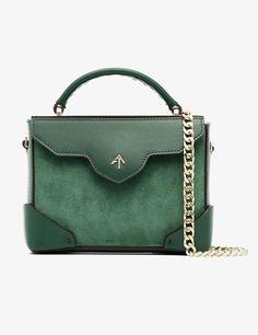 606e1f1175b Manu Atelier Emerald Green Micro Shoulder Bag-Kate Middleton - Dress Like A  Duchess