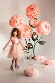 Ростовые цветы,большие цветы,цветы для фотосессии,цветы из бумаги Запоріжжя - зображення 1