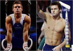 sam mikulak shirtless | Hottest Male Gymnasts | London Olympics | Top 10 | Jake Dalton | Tommy ...