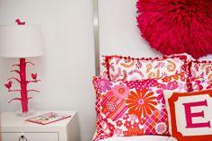 laquered white/chrome nightstand + e + pouf