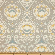 Amazon.com: 44'' Wide Taza Medallion Grey Fabric By The Yard: Arts, Crafts & Sewing