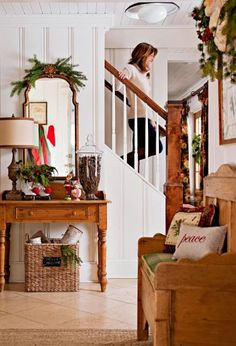 My Sweet Savannah: ~a gorgeous home decorated for the holidays~
