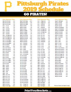Refreshing image with regard to pittsburgh pirates printable schedule