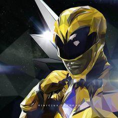 "370 curtidas, 2 comentários - Vinícius Teodoro (@vini_teodoro) no Instagram: ""Semana @powerrangersmovie Dia 01: Low Poly Ranger Amarela/Yellow Ranger @iambeckyg  #YellowRanger…"""