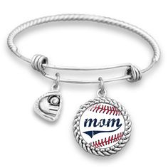 """<p>The perfect accessory for baseball moms and family fans!</p><p><strong>Originally $25.99, we're celebrating by offering 50% off to the first 50 customers!</strong></p> <p><strong>Product details:</strong></p> <ul> <li>1 SIlver-Plated Bracelet (fits most female wrist sizes)</li> <li>1 0.9"""" Silver-Plated Charm</li> <li>1 Baseball Mom Charm</li&gt..."""