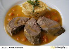 Vepřový jazyk s rozmarýnem-pro rychlejší přípravu v papiňáku recept - TopRecepty.cz No Salt Recipes, Pot Roast, Ethnic Recipes, Life, Recipies, Carne Asada, Roast Beef