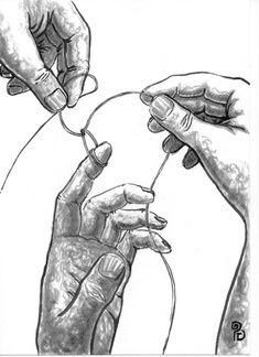 Pablo Barrio Tena. (hu)Manos y cuerdas. Art, Ropes, Hands, Art Background, Kunst, Performing Arts, Art Education Resources, Sanat