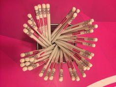 Le nostre nuove matite. getcreative