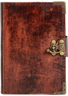 Plain Brown Vintage Style Leather Journal Notebook Daily Diary Sketchbook Pad Handmade Pocket Book Women Men Children Office Ladies Writing Drawing