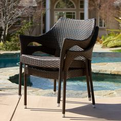Lorelei Patio Furniutre ~ Outdoor 5pc Multibrown Wicker Dining Set *** See this great product. (This is an affiliate link) #PatioFurnitureSets