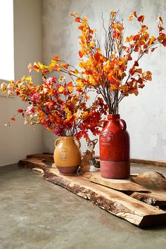 Very sturdy & a nice accent to a spring floral arrangement! Harvest Decorations, Thanksgiving Decorations, Fall Home Decor, Autumn Home, Fall Floral Arrangements, Vases Decor, Centerpiece Ideas, Centerpieces, Fall Harvest