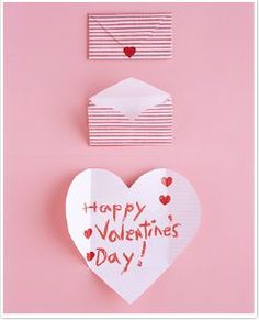 Valentines card and envelope in one. Yet another fun thing to do with my kids!
