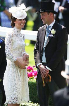 Prince William and Kate Middleton at Royal Ascot June 2017   POPSUGAR Celebrity