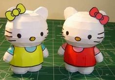Papercraft World: Hello Kitty Papercraft   Paper Models   Free Papercraft   Printable Crafts   Paper Toys   Arts and Crafts