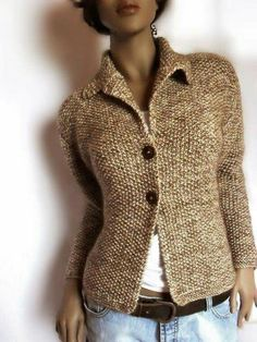 Knitting sweater,  knitted jacket