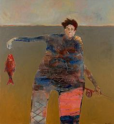 Mel McCuddin - 'Red Fish' - The Art Spirit Gallery of Fine Art
