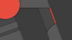 [MinFlat] Dark Material Design Wallpaper