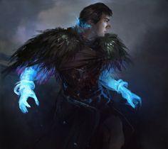 Frost Mage by Besar13.deviantart.com on @DeviantArt