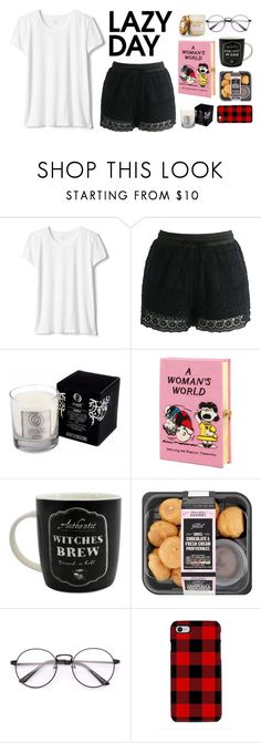 """""""Lazy day"""" by tiwik ❤ liked on Polyvore featuring Chicwish, Olympia Le-Tan, Samsung, Sur La Table and LazyDay"""