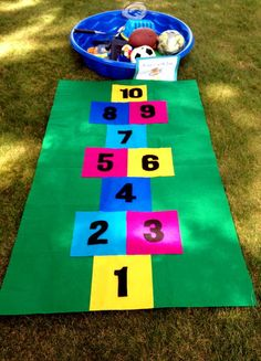 How to Make a Hopscotch Mat: Try out this fabulous DIY craft for kids!