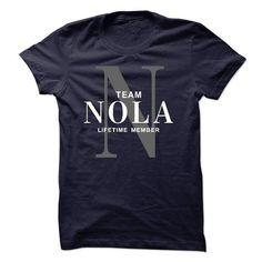 TEAM NOLA LIFETIME MEMBER - #birthday shirt #tshirt with sayings. ADD TO CART => https://www.sunfrog.com/Names/TEAM-NOLA-LIFETIME-MEMBER-55095878-Guys.html?68278