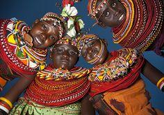 Rendille women - Lake Turkana - Kenya | Flickr: Intercambio de fotos