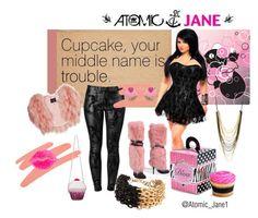 """Cupcake Trouble"" by atomic-jane ❤ liked on Polyvore featuring J APOSTROPHE, NARS Cosmetics, SLY 010, Giuseppe Zanotti, Monsoon, ALDO, ASOS, Steve Madden, Akira Black Label and NYX"