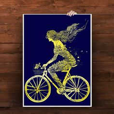 Fab.com | Bike-Themed Tees And Prints