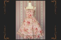 Tulip Garden Dress by Victorian maiden / what i would do to have some dresses like these