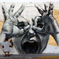 Graffiti Art, Street Art, by Mesa.