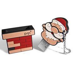 Funny Father Christmas USB Flash Drive