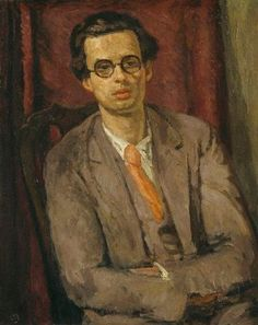 Aldous Huxley by Vanessa Bell, ca. 1931.