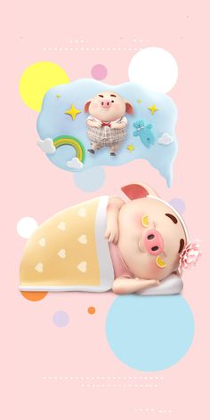 Pig Wallpaper, Cute Piglets, Small Pigs, Pig Illustration, Baby Pigs, Disney Sketches, Binder Covers, Little Pigs, Anime Art Girl