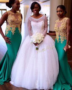 Wedding Dress for Girls in Ghana