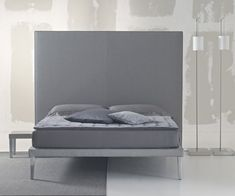 Upholstered bed with wood feet. Inquire for larger headboards. Bedroom Bed, Bedrooms, Cheap Designer, Upholstered Beds, Mattress, Rest, Interior Design, Bed Heads, Modern Beds