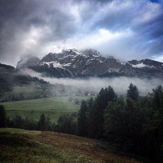 Prima neve a Cortina.