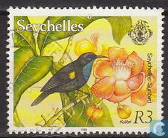 Seychelles (Africa) Stamp 1993 - Flora and Fauna