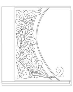 19 Awesome oak leaf leather carving pattern images