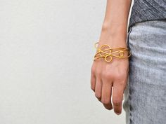 Ana Pina www.anapina.com Orbital Collection . OR05.TRIO bracelets, gold plated sterling silver