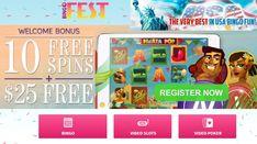 BingoFest bonuses: no deposit and match ⋆ Nabble casino bingo Play Bingo Online, Bingo Bonus, Win Online, Video Poker, Cash Prize, Bingo Games, Casino Games, Memorial Day, Games To Play
