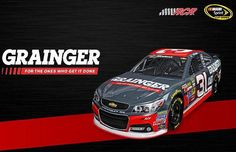 Grainger will sponsor Newman in the #31 Chevy for a few races in 2015