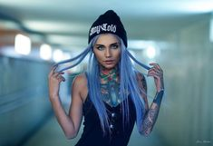 Alternative female tattoo model Felisja Piana | Тату модель Felisja Piana