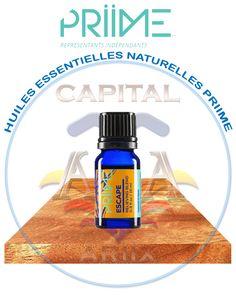 Capital Ariix® : ESCAPE est un mélange Soulageant d'Huiles Essentielles Naturelles (HE) Priime.