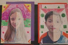Math Meets Art: Symmetry Self-Portraits | Scholastic.com