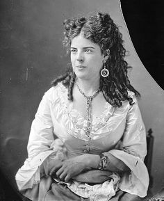 Women of the Civil War Circa 1863 Mrs. Chapin by Matthew Brady Source Flickr Commons via US Natl Archives