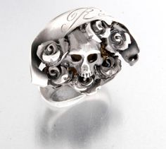 Anello in Argento Brunito Resolve - RnR Baby Gioielli RockRock 'n' Roll Baby Jewels