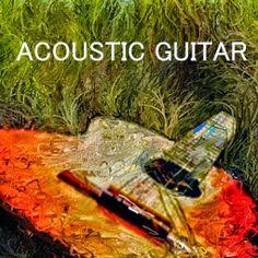 PCペイントで絵を描きました! Art picture by Seizi.N:    ナチュナルなギターの音は、自然の中で聴くと癒されます、そんなギターをお絵描きしてみました。  ...